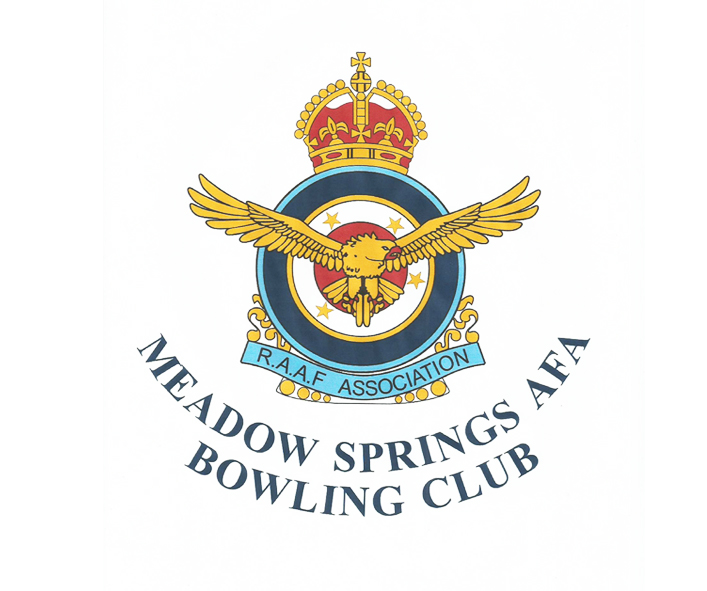 Meadow Springs AFA Bowling Club logo
